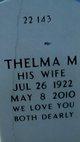 "Thelma M ""Maxine"" <I>Cole</I> Whigham"