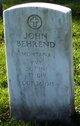 Profile photo:  John Behrend