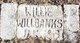"""William Andrew """"Willie"""" Willbanks, Jr"""
