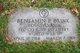 Profile photo: PFC Benjamin Parker Brink