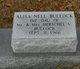 Profile photo:  Alisa Nell Bullock