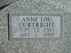Profile photo:  Anne Lou Curtright