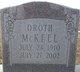 Oroth Alfred McKeel