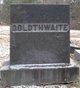 Annie Priscilla <I>Witherly</I> Goldthwaite