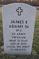 Profile photo:  James E Adams Sr.