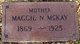 "Magnetta N ""Maggie"" <I>Rule</I> McKay"