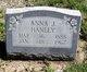 "Anna Jane ""Annie"" <I>Van Ness</I> Hanley"