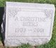 Profile photo:  A Christine Beers