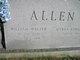 Profile photo:  William Walter Allen