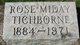 Rose Bertha <I>Miday</I> Tichborne