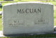 Profile photo:  Ada Elizabeth <I>McClain</I> McCuan