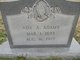 Profile photo:  Ada <I>Arnett</I> Adams