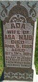 Profile photo:  Ada Haig