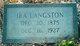 Ira Langston