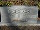 Nellie May <I>Ruthrauff</I> Nicholson