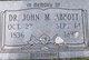 Dr John Morey Abbott