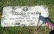 PFC Harold D Webb