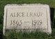Profile photo:  Alice I <I>Gates</I> Raup