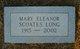 Mary Eleanor <I>Scoates</I> Long