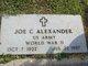 Joe Carroll Alexander