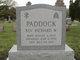 Rev Richard W Paddock