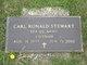 Profile photo:  Carl Ronald Stewart