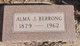 Profile photo:  Alma J <I>Dodd</I> Berrong