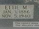 Profile photo:  Ettie M. McIntire