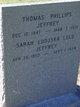 "Profile photo:  Sarah Ludoska ""Lulu"" <I>Crosfield</I> Jeffrey"