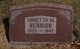 Profile photo:  Annetta <I>Madsen</I> Bennion