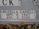 Rozella Ganelle <I>Wright</I> Warlick
