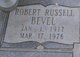 Profile photo:  Robert Russell Bevel