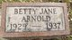 Betty Jane Arnold