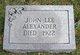 Profile photo:  John Lee Alexander
