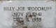 "Profile photo:  William Joseph ""Billy Joe"" Woodruff"