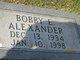 Bobby Eugene Alexander