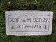 Bertha B. <I>Martin</I> DeTurk