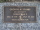 Dr George Middleton Stubbs