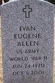 Profile photo:  Ivan Eugene Allen