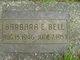 Profile photo:  Barbara E Bell