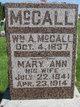 Mary Ann <I>Neal</I> McCall