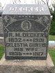 Profile photo:  Celesta <I>Curtis</I> Decker