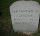 Profile photo:  Alexander M. Candee