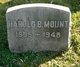 Harold B Mount