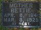 Bettie (Betsey) P <I>Lundeen</I> Lillyquist