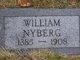 """Frank William """"William"""" Nyberg"""