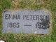 Emma Ida Amelia Peterson
