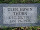 Glen Edward Thorn