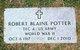 Robert Blaine Potter