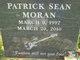 Patrick Sean Moran